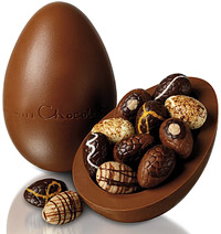 Chocolate egg, Шоколад